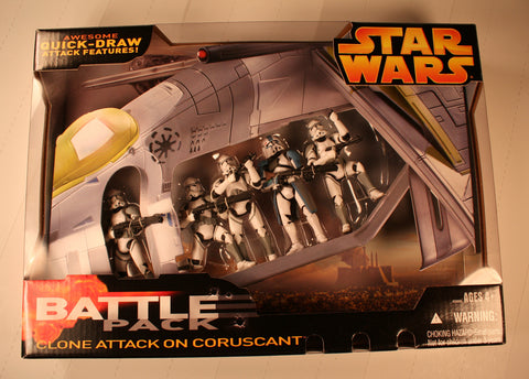 SW 11786 battle pack clone attack on coruscant