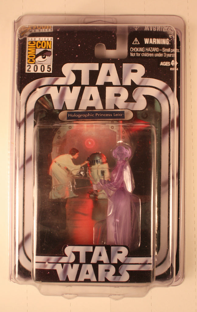 SW 20911 holographic princess leia  comic con 2005