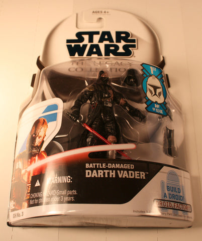 SW 33043 battle damaged darth vader