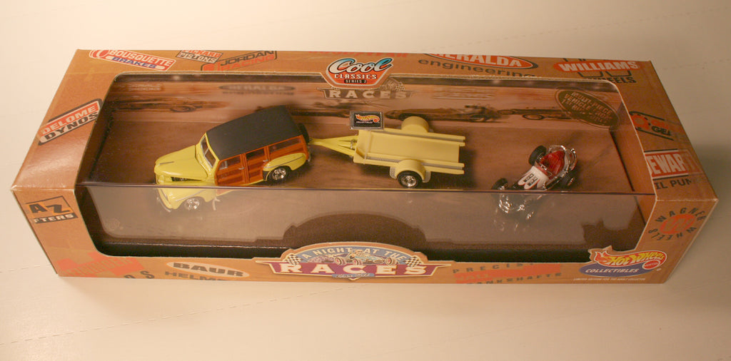 DCM     Hot wheels Collectables #5   Woody & Sprint car