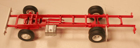 #50615 - Athearn Ford C Chassis-Long Plastic Wheels and Rubber Tires