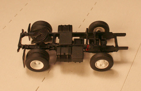 #50614 - Athearn Ford C Chassis-Short Plastic Wheels and Rubber Tires