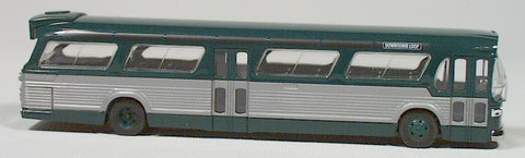 Busch  #44500  American fish bowl bus  (green) HO 1:87 scale