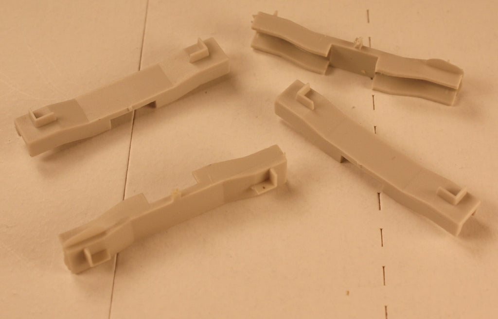 #R124 - Container Braces for Athearn Impac (4/Pkg)