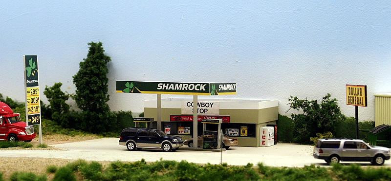 #SC-001 - Rural Shamrock Gas Station & Store