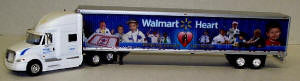 #T-SP-065 		International Prostar Sleeper Cab w/53 ft dry van - Walmart