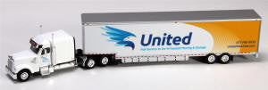 #T-SPT-737 		Coronado Midroof Tract w/Moving Trailer -- United Van Lines