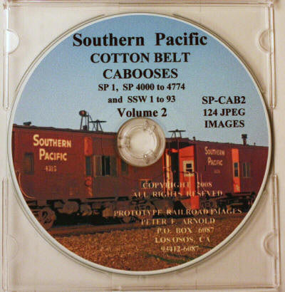BK160 CD Peter Arnold SSW Caboose (Vol 2)