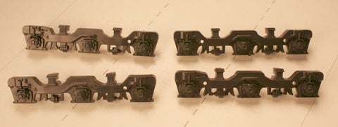 #ATHSF-105,   UC  Sideframe Set (plastic)- Fits Athearn Trucks