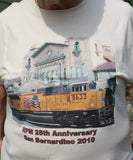 T- Shirt  L  UP  RPM 25th Anniversary San Bernardino 2010