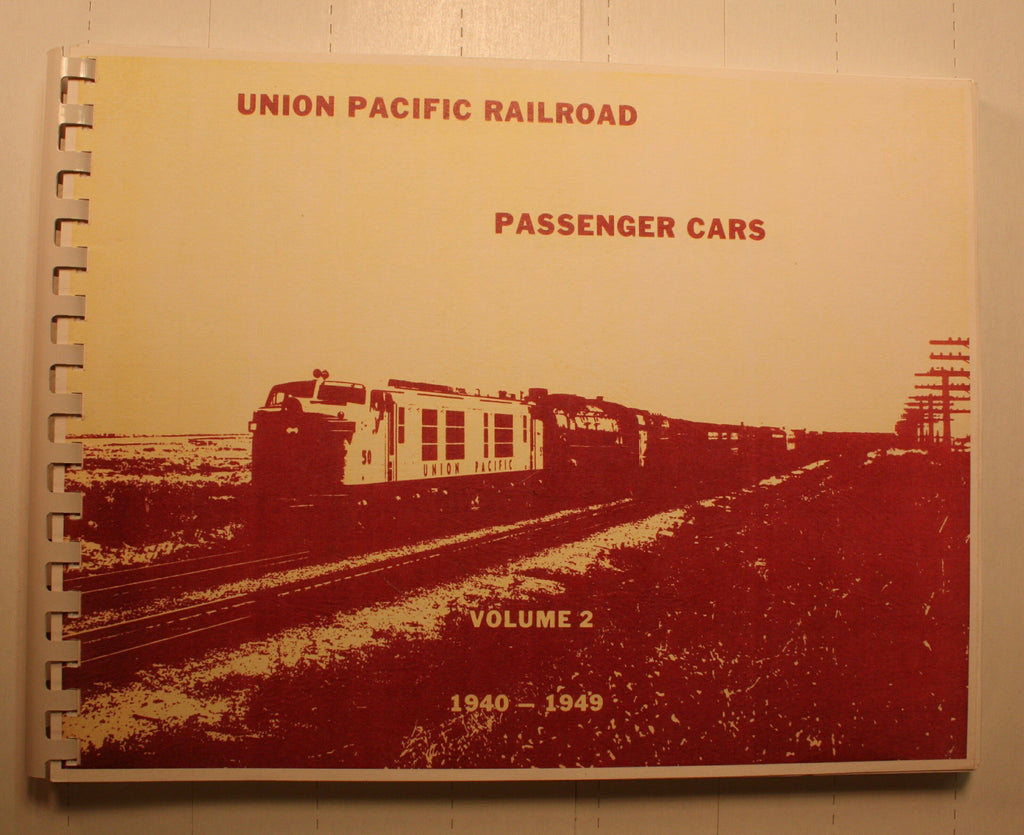 BK150 UP Passenger Cars 1940-1949  Vol 2