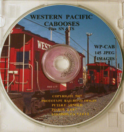BK161 CD Peter Arnold WP Cabooses