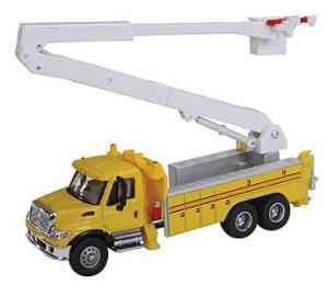 Bol-949-11752    Boley Depart. 1-87 vehicles bucket truck  (International cab)