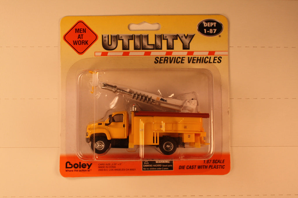 B #002  GMC  Yel   Boley Depart. 1-87 vehicles  utility