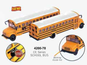 B #009 Boley Depart. 1-87 vehicles school bus (yellow)