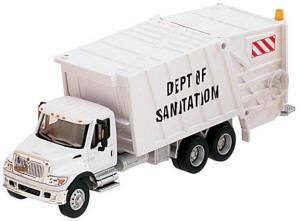 B #007 Boley Depart. 1-87 vehicles trash trk white