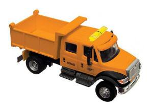 B #006 Boley Depart. 1-87 vehicles extra cab dump