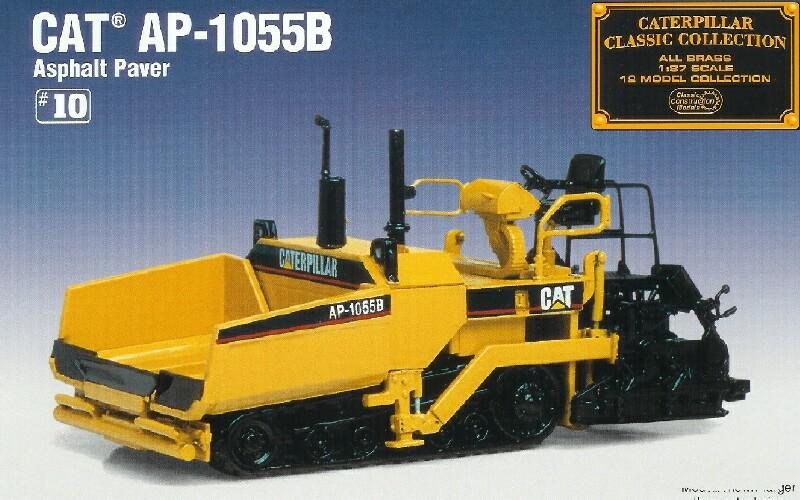 Classic Construction Models   #BCE Cat  AP-1055B  Asphalt Paver (SOLD OUT)