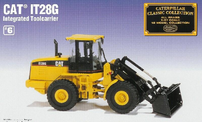Classic Construction Models     #BCE Cat IT28G Intergrated Toolcarrier