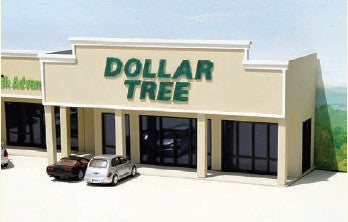#ML-006 - Dollar Tree Backdrop Building