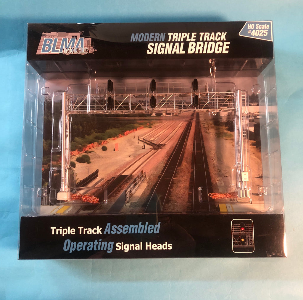 BLMA-4025 Triple Track Signal Bridge
