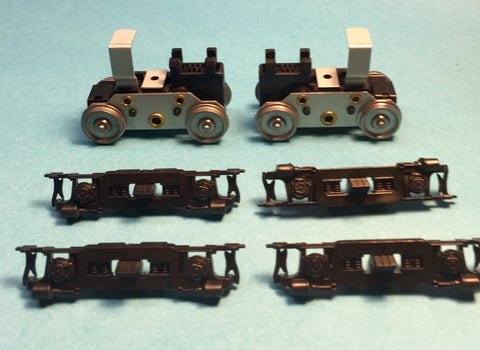 #PT34021-2 -Power Trucks: UB (Ath) U25B (Stewart) B23-7 (RPP)  FA (Train Miniature, Walthers, Model Power Shark)