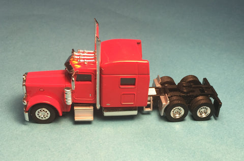 #T-6000 		Peterbilt 389 with 70 in Standard Sleeper Viper Red