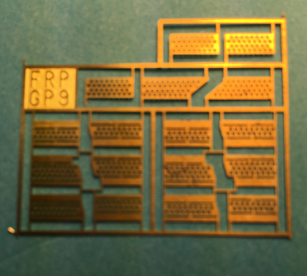 #29239 - FR GP7/GP9 Brass Diesel Steps