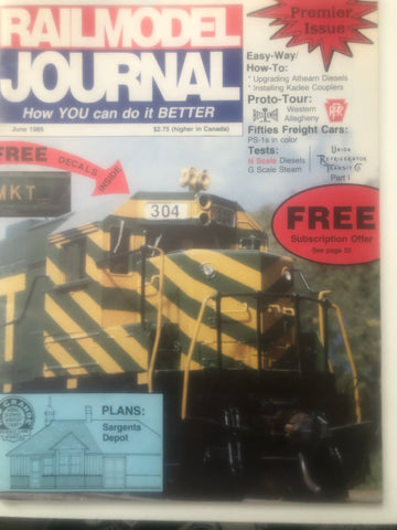 BK203    Rail Model Journal June 1989