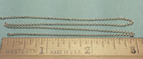 #29223 - Miniature Chain - Silver 27 Links Per Inch