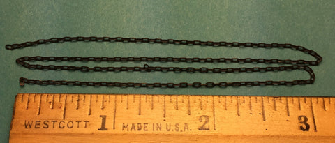 #29221 - Miniature Chain - Black 15 Links Per Inch