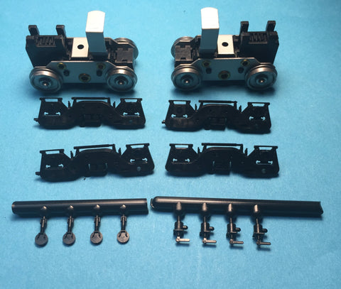 #PT34702-1 -Power Trucks:  8-40B (RPP frame) ( 34702-1 Includes RPP FB2 Sideframes #114)