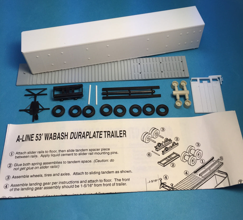 #50520 - 53' Wabash Nat'l Trailer Undecorated - All Buttons