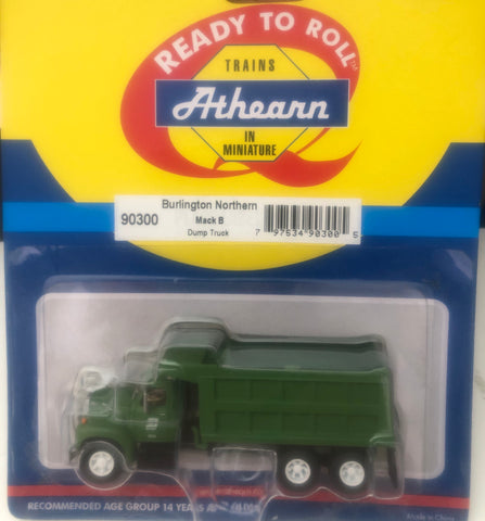 Ath-90300  Mack B Dump Truck -  Burlington Northern