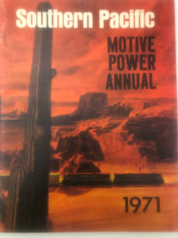 BK187  SP Motive Power Annual 1971