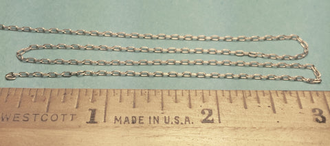 #29224 - Miniature Chain - Silver 15 Links Per Inch