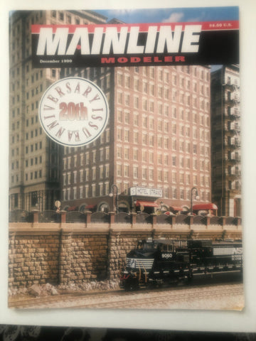 BK202    Mainline Modeler Dec. 1999 20th Anniversary Issue