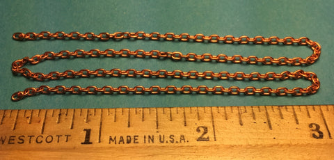 #29270 - Miniature Chain - Brass 13 Links Per Inch