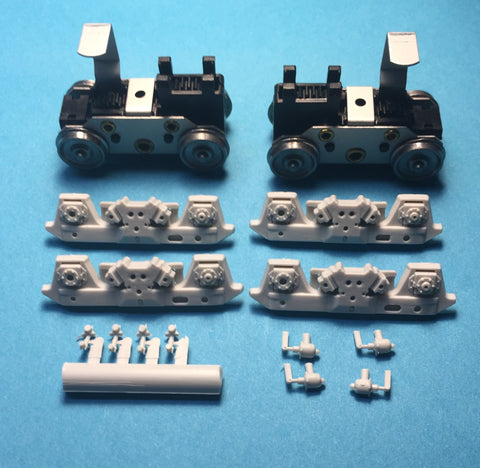 #PT52663-1 - Power Trucks: GP40X RPP (#52663 & #52663-1 Includes RPP GP40X Sideframes)