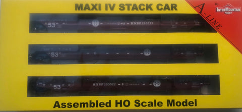 #47362-04  Maxi IV Stack Car - Late BNSF