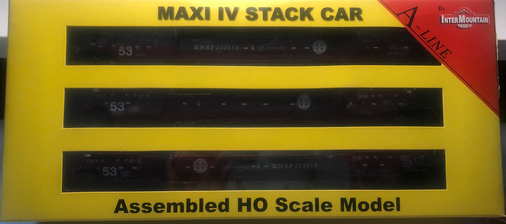 #47362-02  Maxi IV Stack Car - Late BNSF