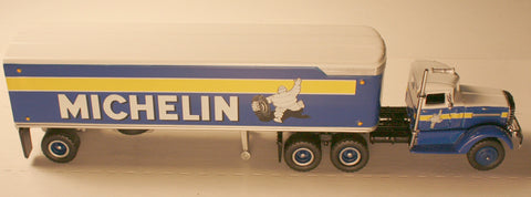 DCM   Michelin  Tractor/Trailers by Matchbox  diecast HO scale
