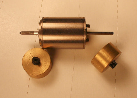 #30321WF - Holland Micro Motor (with brass flywheels)
