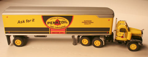 DCM  Pennzoil Tractor/Trailers by Matchbox  diecast HO scale