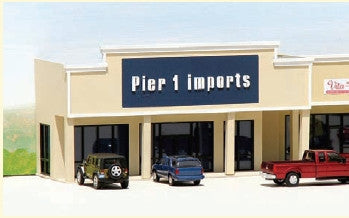 #ML-005 - Pier 1 Imports Mall Store Kit in HO Scale