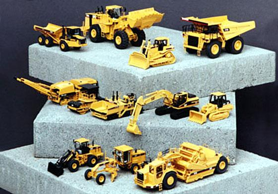 Classic Construction Models  #BCE Cat  12 piece collection                     ( SOLD OUT)