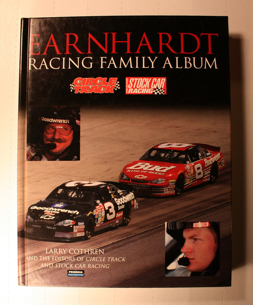 BK215  Dale Earnardt book  (Racing Family Album)