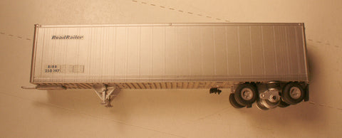 #50186  Wheel Works  45' RoadRailer trailer  (finished model) RoadRailer