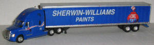 #T-SPT-3184   		Freightliner Cascadia/53 ft Van, Sherwin-Williams Paints