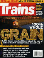 BK105   Trains Magazine issue on Grain